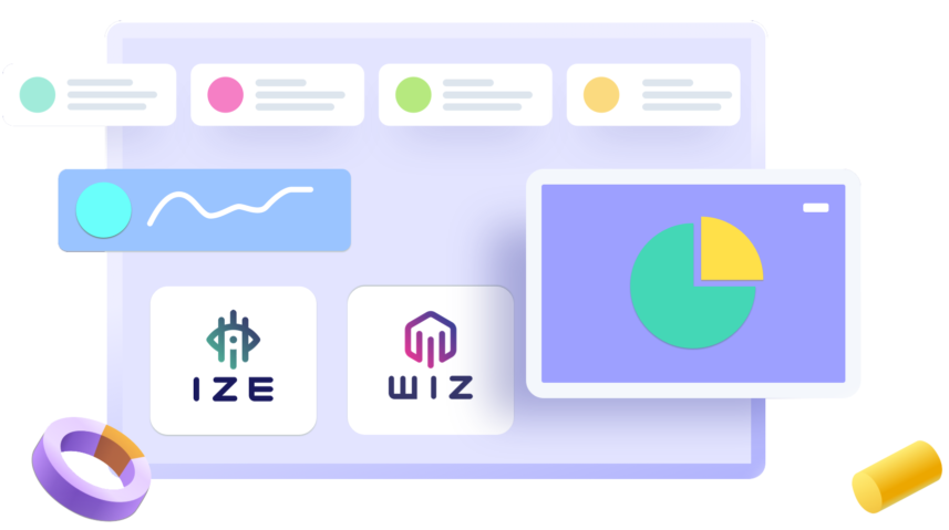 IZE and WIZ image banner